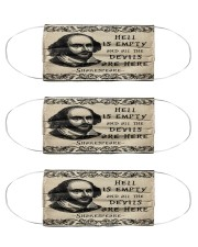 Hell is empty and all the devils are here Cloth Face Mask - 3 Pack front