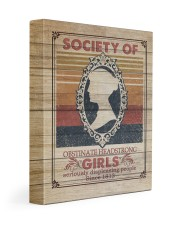 Society Of Obstinate Headstrong Girls 11x14 Gallery Wrapped Canvas Prints front