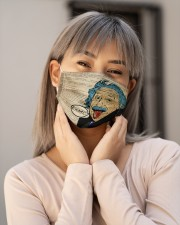 Albert Einstein Funny Face Cloth Face Mask - 3 Pack aos-face-mask-lifestyle-17