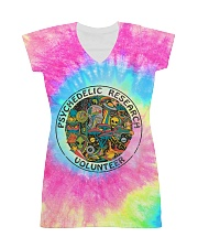 Psychedelic research volunteer All-Over Dress tile