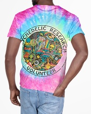 Psychedelic research volunteer All-over T-Shirt aos-all-over-T-shirt-lifestyle-back-03