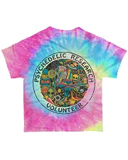 Psychedelic research volunteer All-over T-Shirt back