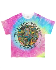 Psychedelic research volunteer All-over T-Shirt front