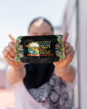 I'm mostly peace love and light and a little Go Cloth Face Mask - 3 Pack aos-face-mask-lifestyle-07