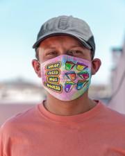 Drop acid not bombs Cloth Face Mask - 3 Pack aos-face-mask-lifestyle-06