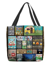 Camping Happy All-Over Tote tile