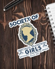 Society of obstinate headstrong girls Sticker - Single (Vertical) aos-sticker-single-vertical-lifestyle-front-05