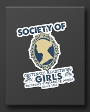 Society of obstinate headstrong girls Sticker - Single (Vertical) aos-sticker-single-vertical-lifestyle-front-08