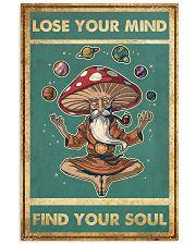 Meditation Magic Mushrooms Yoga Buddha 24x36 Poster front