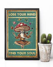 Meditation Magic Mushrooms Yoga Buddha 24x36 Poster lifestyle-poster-8