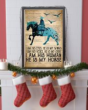 I Am His Eyes He Is My Wings  24x36 Poster lifestyle-holiday-poster-4
