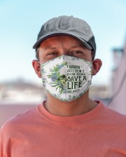 Garden save a life Cloth Face Mask - 3 Pack aos-face-mask-lifestyle-06