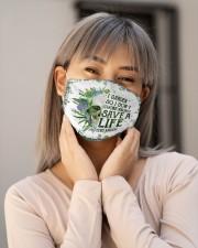 Garden save a life Cloth Face Mask - 3 Pack aos-face-mask-lifestyle-17