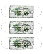 Garden save a life Cloth Face Mask - 3 Pack front