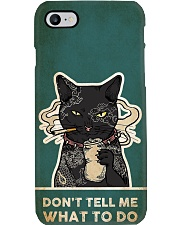 Cat Don't Tell Me What To Do Phone Case i-phone-8-case