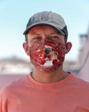 pug Christmas dog Cloth Face Mask - 3 Pack aos-face-mask-lifestyle-06