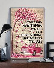 We don't know how strong we are 11x17 Poster lifestyle-poster-2
