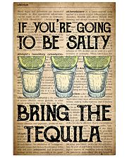 Tequila Old Dictionary 24x36 Poster front