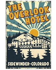 Retro Overlook Hotel 24x36 Poster front