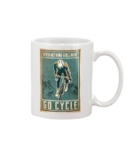When nothing goes right go cycle Mug tile