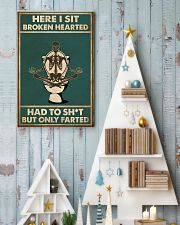 Here i sit broken hearted 11x17 Poster lifestyle-holiday-poster-2