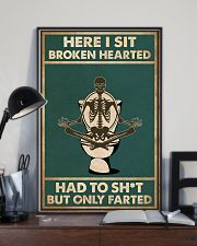 Here i sit broken hearted 11x17 Poster lifestyle-poster-2