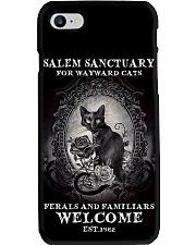 Salem Sanctuary For Wayward Cats Est 1692 Phone Case i-phone-8-case