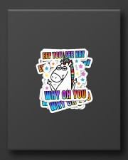 Eff You See Kay Why Oh You Sticker - 6 pack (Vertical) aos-sticker-6-pack-vertical-lifestyle-front-08