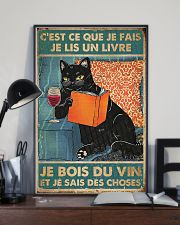 Thats what I do I read books I drink wine 24x36 Poster lifestyle-poster-2
