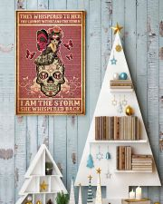 She whispered back I am the storm 11x17 Poster lifestyle-holiday-poster-2