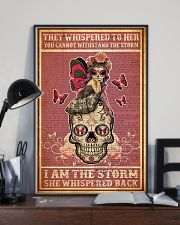 She whispered back I am the storm 11x17 Poster lifestyle-poster-2