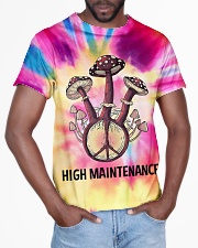 Mushroom high maintenance All-over T-Shirt aos-all-over-T-shirt-lifestyle-front-03