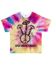 Mushroom high maintenance All-over T-Shirt front