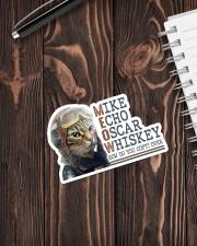 Mike Echo Oscar Whiskey Sticker - Single (Vertical) aos-sticker-single-vertical-lifestyle-front-05
