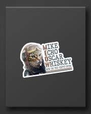 Mike Echo Oscar Whiskey Sticker - Single (Vertical) aos-sticker-single-vertical-lifestyle-front-08