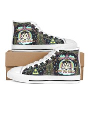 Opossum Go To Hell Men's High Top White Shoes tile
