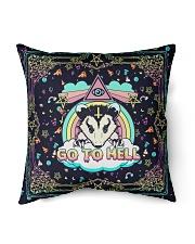Opossum Go To Hell Indoor Pillow tile