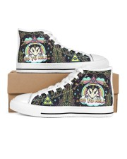 Opossum Go To Hell Women's High Top White Shoes tile