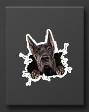 Funny greatdane breaking glass Sticker - Single (Vertical) aos-sticker-single-vertical-lifestyle-front-08