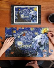 Golden Retriever Van Gogh 250 Piece Puzzle (horizontal) aos-jigsaw-puzzle-250-pieces-horizontal-lifestyle-front-11