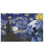Golden Retriever Van Gogh 250 Piece Puzzle (horizontal) front