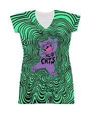 Acid Cats All-Over Dress tile
