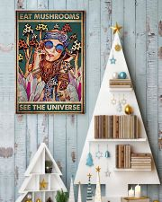 Eat Mushrooms See The Universe 24x36 Poster lifestyle-holiday-poster-2
