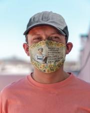 Flower reader Jane austen Cloth Face Mask - 3 Pack aos-face-mask-lifestyle-06