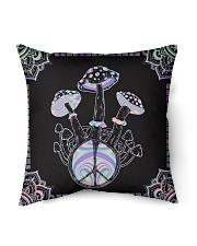 Hippie Hologram Mushroom Indoor Pillow tile