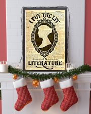 I Put The Lit In Literature 24x36 Poster lifestyle-holiday-poster-4