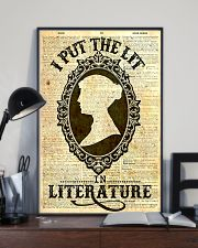 I Put The Lit In Literature 24x36 Poster lifestyle-poster-2