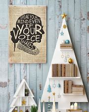 RBH speak your mind even if your voice shakes 24x36 Poster lifestyle-holiday-poster-2