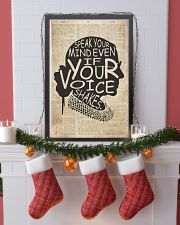 RBH speak your mind even if your voice shakes 24x36 Poster lifestyle-holiday-poster-4