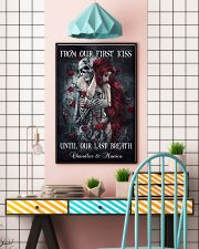 Custom From Our First Kiss Until Our Last Breath 24x36 Poster lifestyle-poster-6